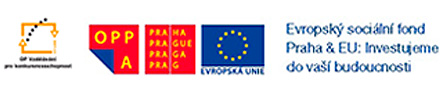 logo OPPA Praha + EU Evropský sociální fond Praha & EU; Investujeme do vaší budoucnosti