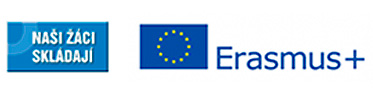 logo Naši žáci skládají Erasmus