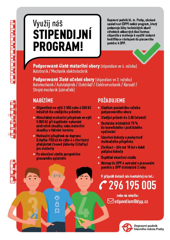Stipendijní program DP